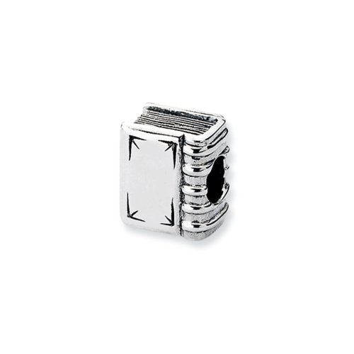 Sterling Silver Book Bead Char