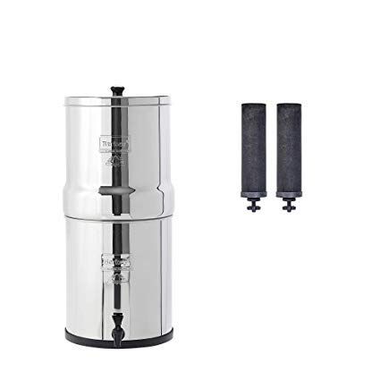 Buy Bargain Big Berkey Gravity-Fed Water Filter with 2 Black Berkey Purification Elements