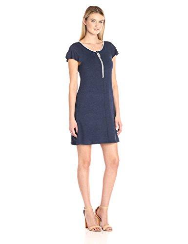 Scoop Neck Terry Dress - 4