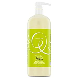 DevaCurl Low-Poo Original Mild Lather Cleanser for Curly Hair, 32 Ounce