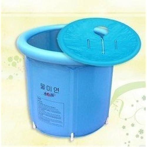 portable japanese soaking tub. Happy Life Portable Plastic Bathtub  Blue Japanese Soaking Tub Amazon com