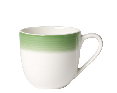 Demitasse Germany (Colorful Life Green Apple Espresso Cup by Villeroy & Boch - Premium Porcelain - Made in Germany - Dishwasher and Microwave Safe - 3.25 Ounce Capacity)