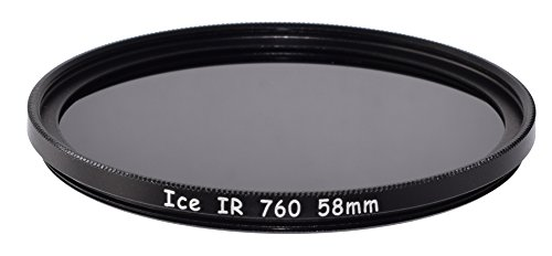 ICE IR 58mm 58 Filter Infrared Infra-Red 760HB 760nm 760 Optical Glass