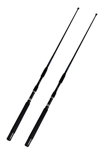 EAT MY TACKLE Sabiki Bait Fishing Rods 7 Foot 2 Pack