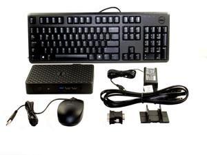 Dell Wyse 0CK76 5010 Mini Desktop, 2 GB RAM, 8 GB Flash, AMD Radeon HD 6250, Black