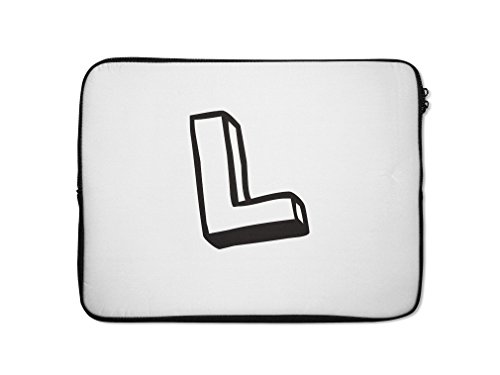 """Style in Print """"L """" Kids Initial Letter L Computer Laptop..."""