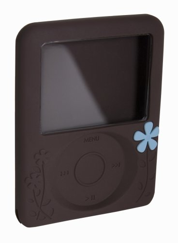 - Agent18 FlowerVest Silicone Case for iPod nano 3G (Brown)