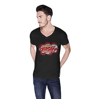 Cero Crush Retro T-Shirt For Men - Xl, Black