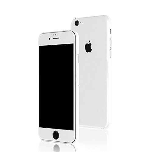 AppSkins Folien-Set iPhone 6 PLUS Full Cover - Brilliant Diamantweiß/ ceramic white