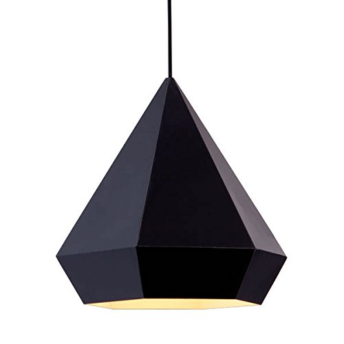 Zuo 50168 Forecast Ceiling Lamp, Black