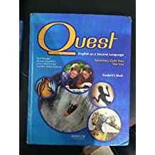Quest English as a Second Language Student's Book, Secondary Cycle Two Year One