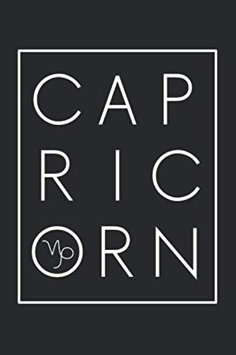 Capricorn: A Blank Lined Astrology Notebook and Journal for Horoscope Readers ()