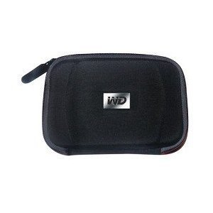 Western Digital Hard Carrying Case for My Passport Portable Drives WDBABJ0000NBK-NRSN  - Black