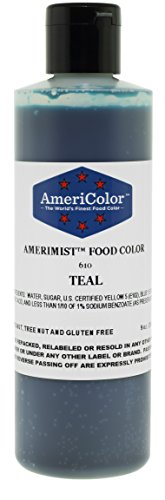 AmeriColor Airbrush Teal 9oz Food Color
