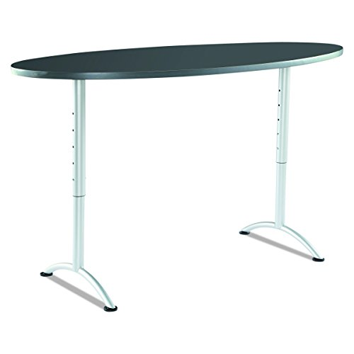 Iceberg ICE69627 ARC 6-foot Adjustable Height Oval Conference Table, 36