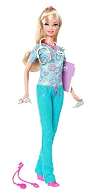 Barbie I Can Be Nurse Doll - 2012 Version from Mattel
