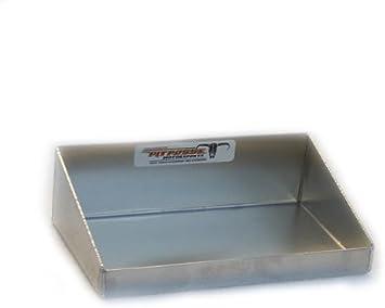 Silver Pit Posse All Purpose Shelf Aluminum Enclosed Race Trailer Shop Garage Storage Organizer
