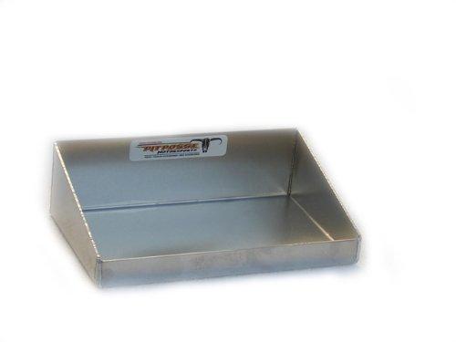 Pit Posse 606 Mini Work Tray Aluminum Enclosed Race Trailer Shop Garage Storage Organizer