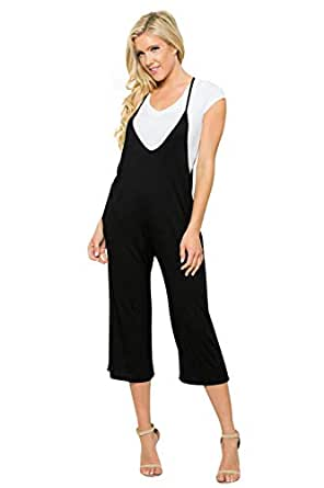 Junky Closet Women's Multicolor Sexy Rompers Jumpsuits Playsuit (Small, R3442S Black)