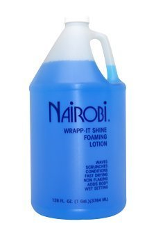 Price comparison product image Nairobi Wrapp-It Shine Foaming Lotion, 128 Ounce