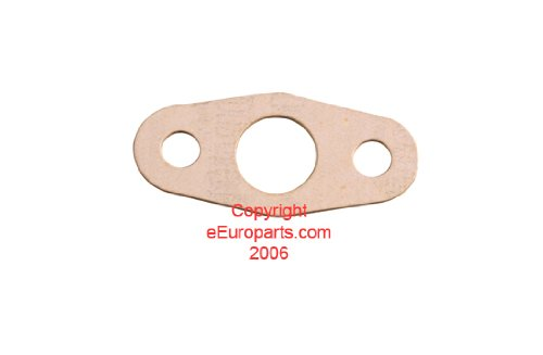 (Saab 9-3 (1999+) Turbocharger Oil Return Line Gasket GENUINE oem)