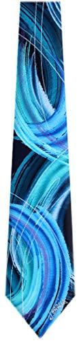 (JG-7113 - Jerry Garcia Designer Silk Necktie Ties)