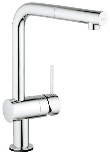 Grohe Pot Filler Faucets (Minta Touch Single-Handle Pull-Out Kitchen Faucet)