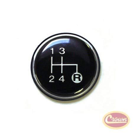 Shift Knob Insert (T4, T170) - Crown# J3241067