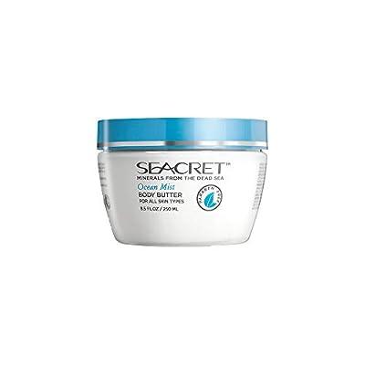 Seacret Dead Sea Spa Body Butter + Salt & Oil Scrub Set- Various Scent (Ocean Mist)