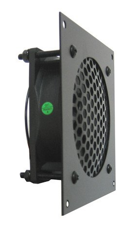 Coolerguys Pre-Set Thermal Controlled Cooling Kits for Cabinets, AV, and Components (Single 80mm, Metal)