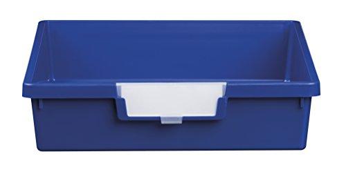 Certwood CE1950PB StorSystem Slim Line Single Depth Tray, Blue - Blue Tote Tray