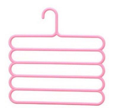 XXAICW Cinco capas de ropa innovadora para rack perchero ...