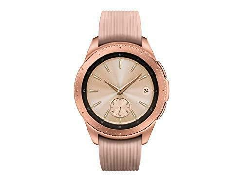 Samsung Galaxy Watch (42mm) Smartwatch (Bluetooth) Android/iOS Compatible -SM-R810 (Rose Gold)