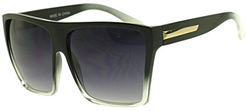 Sunglass Stop - Super Big Large Square Aviator Wayfarer Style Sunglasses for Men and - Old Aviator Goggles School
