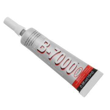 - B7000 Glue - Clear Epoxy Glue - B7000 15mL Glue Epoxy Resin Clear Adhesive Industrial Strength Repair Phone Case Jewelry (Epoxy Resin Glue)