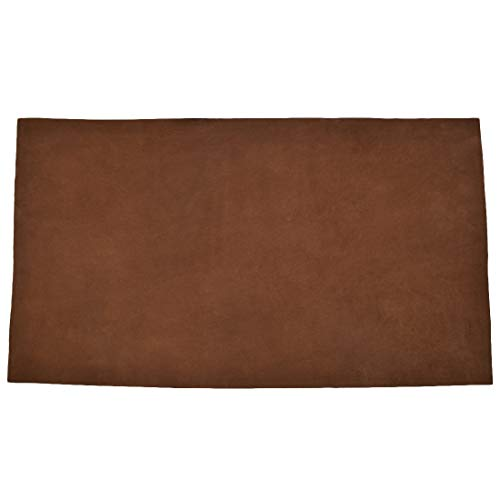 Leather Square (12 x 24 in.) for Crafts/Tooling/Hobby Workshop, Medium Weight (1.8mm) by Hide & Drink :: Swayze Suede ()