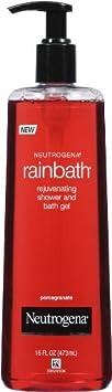 Neutrogena Rainbath Rejuvenating Shower Gel – Pomegranate 16 oz. Pack of 3