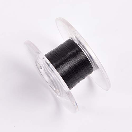 (Doowops 1PC Scroll Type Invisible Thread(Black) Magic Tricks Used for Venom Floating Magic Stage Street Illusion Props Gimmick Mentalism)