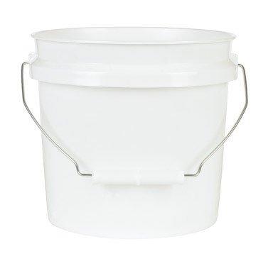 Leaktite Plastic Pail (Leaktite Mixing Pail Plastic 1 Gl White)