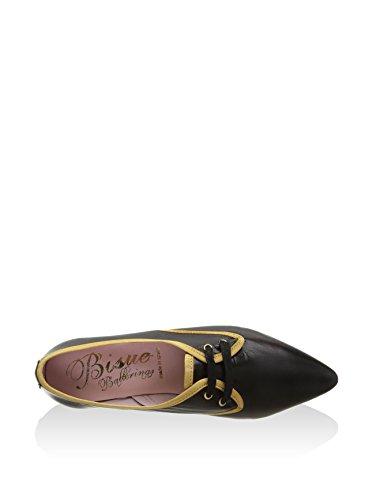 Eu De Bisué 35 Cordones Negro Zapatos qvIxOwCT