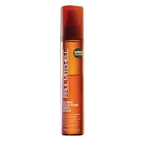 Paul Mitchell Ultimate Color Repair Triple Rescue Hair Spray for Unisex, 5.1 oz