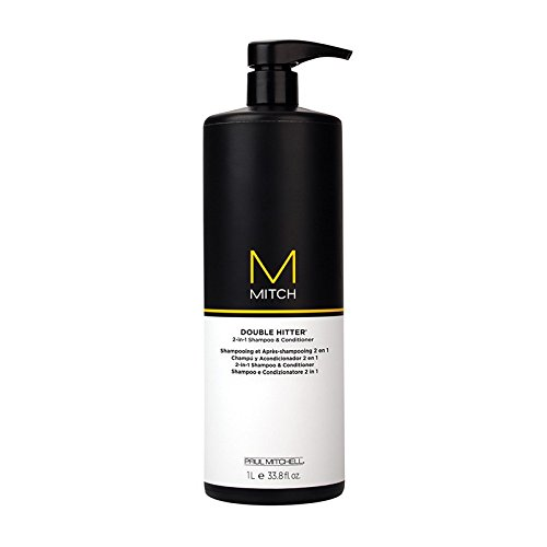Paul Mitchell Mitch Double Hitter 2-in-1 Shampoo and Conditi