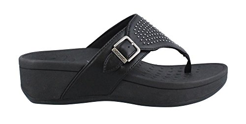 Vionic Women's Capitola Black Sheep Nappa 8 M US