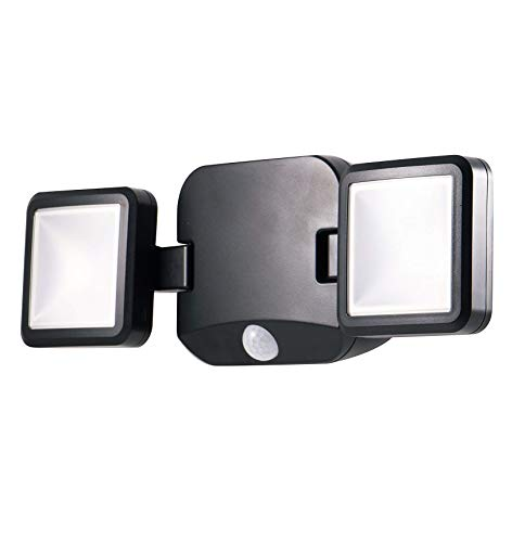 (Energizer LED Motion-Activated Security Spotlight, Wireless, Battery Operated, 600 Lumens, Adjustable Position, Light Swivels & Rotates, No Wiring Needed, Outdoor and Weather-Resistant, 40776 )