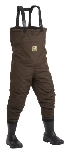 UPC 076501067446, Hodgman Pond Hollow Insulated Booted Chest Wader With No-Slip Soles, 7
