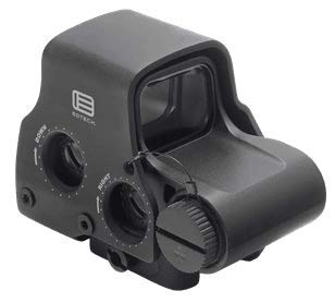 EOTECH EXPS2-0 Holographic Sight, Black, Length: 3.80