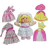 Baby's First easy dress up dolly by Goldberger Doll Mfg. Co.