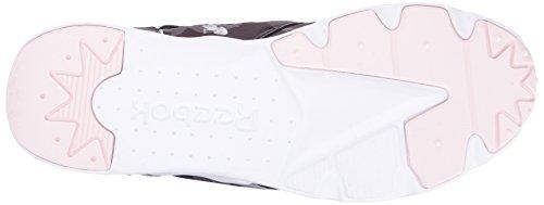 Reebok Furylite Fashion Women's Sneaker White Porcelain Black Floral Graphic trwwqg57
