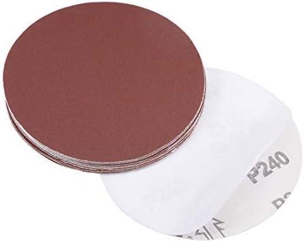 - 5-Inch Psa Sanding Disc, Aluminum Oxide Adhesive, zurück Sandpaper, 240 Grit, 15 Pieces