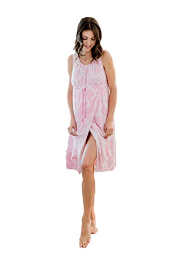 - Baby Be Mine 3 in 1 Labor/Delivery/Nursing Hospital Gown Maternity, Hospital Bag Must Have (L/XL, Emily)